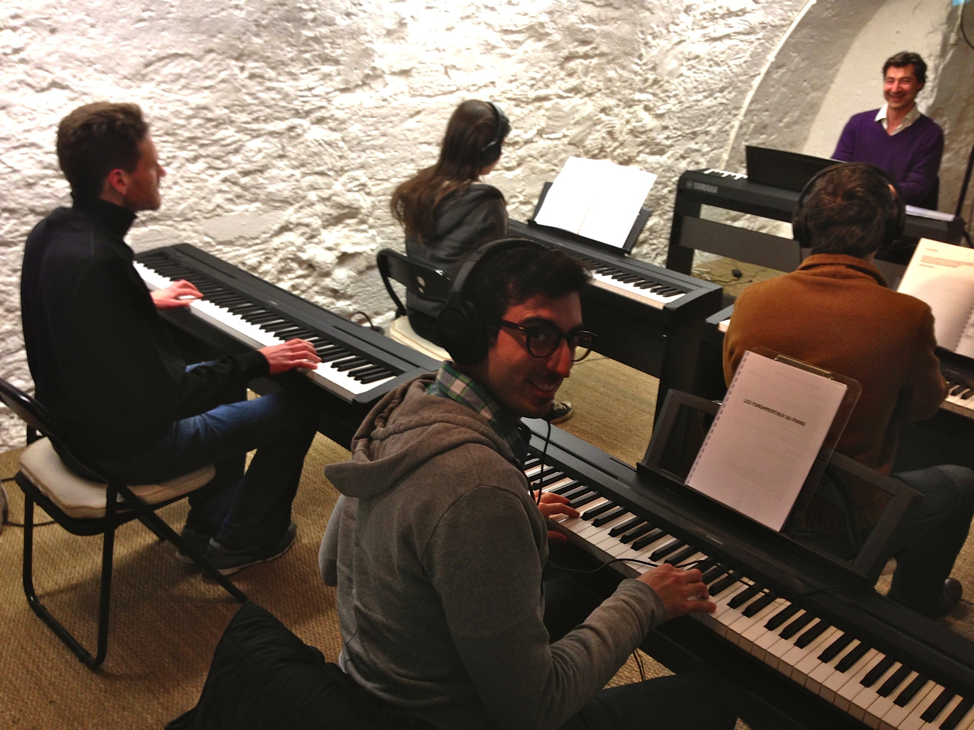 Cours de Piano à Paris